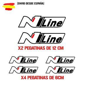 HYUNDAI-I-30-I-20-TUCSON-N-LINE-kit-de-6-Tuning-sticker-auto-Fun-pegatinas