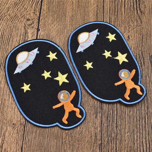 Do it yourself Jeans Patch de réparation Genou Cartoons Iron-Sur la Couture Applique Décoration Craft