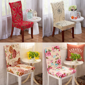 2017 Hot Dining Chair Cover Spandex Strech Dining Room Chair Protector Slipcover