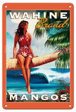 Newport Beach Calif Sailing Koniakowsky Vintage Travel Poster Metal Tin Sign