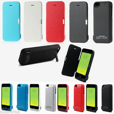 4200mAh iPhone 5 5s 5c External Battery Backup Charging Bank Power Case No Cover