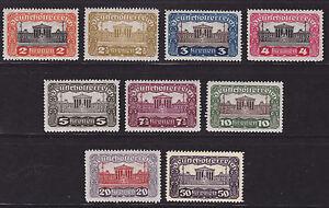 Osterreich-1919-21-ANK-Nr-284-92-pf-siehe-Bild-gt