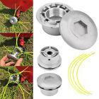 Aluminium Line Head Trimmer Kopf Spulensatz für Benzin Brushcutter Garten Use