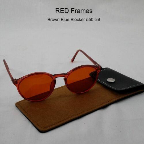 ELITE-Newark Keyhole Custom Colors 20x48 NOS Vintage Eyewear /& Case