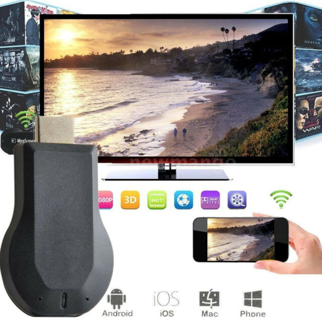 MiraScreen G2 Wireless WiFi Display TV Dongle Receiver HD HDMI Chromecast DLNA