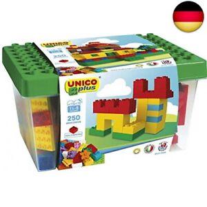 Unico Plus 8525–Box mit Bausteinen (250Teile)