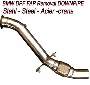 Details About Downpipe Fap Dpf Off Removal Bmw Serie 1 Er E81 118d 143 Bhp Motor N47d20 T8