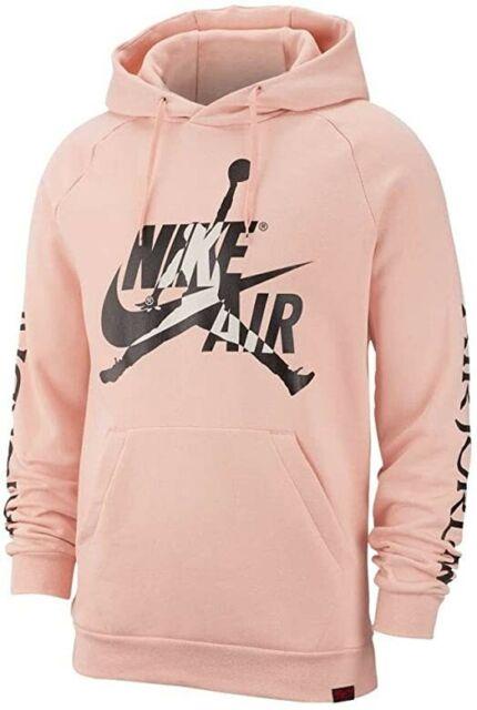 Nike Jordan Jumpman Coral Pink Hoodie