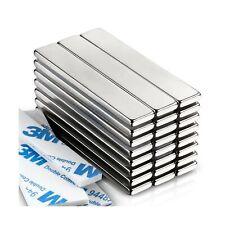Powerful Neodymium Bar Magnets Rare Earth Metal Neodymium Magnet 60 X 10 X
