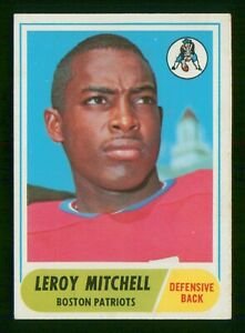 LEROY MITCHELL UER RC 1968 TOPPS 68 NO 45 VG  37111