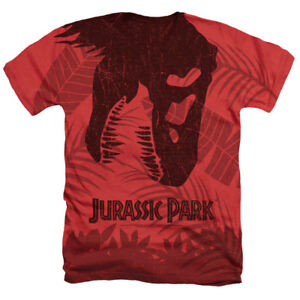 73a3082c JURASSIC PARK FOSSIL Licensed Sublimation Men's Graphic Tee Shirt SM ...