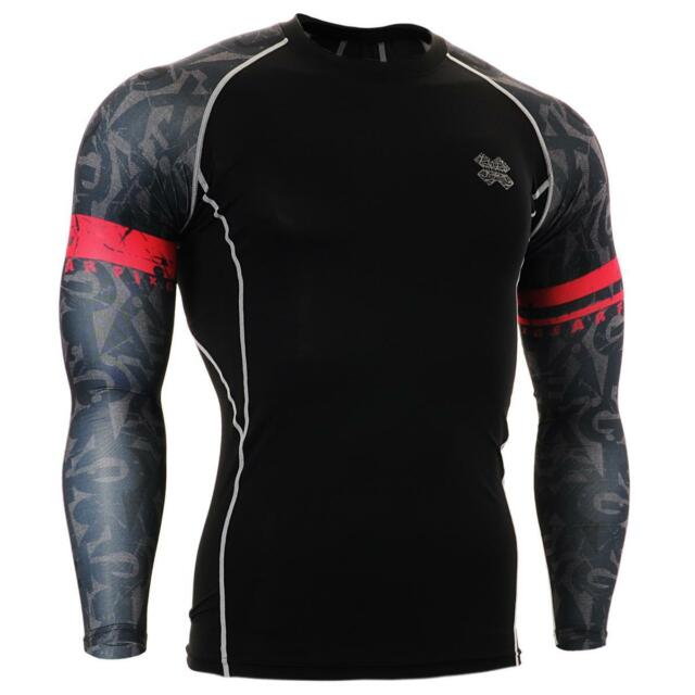 FIXGEAR CPD-BG6 Compression Skin Tights Under Shirts MMA Workout Fitness GYM