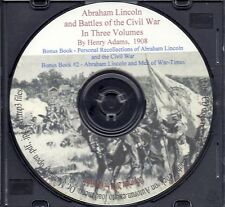 Abraham Lincoln and Battles of the Civil War - Three Volumes, Century Mag.