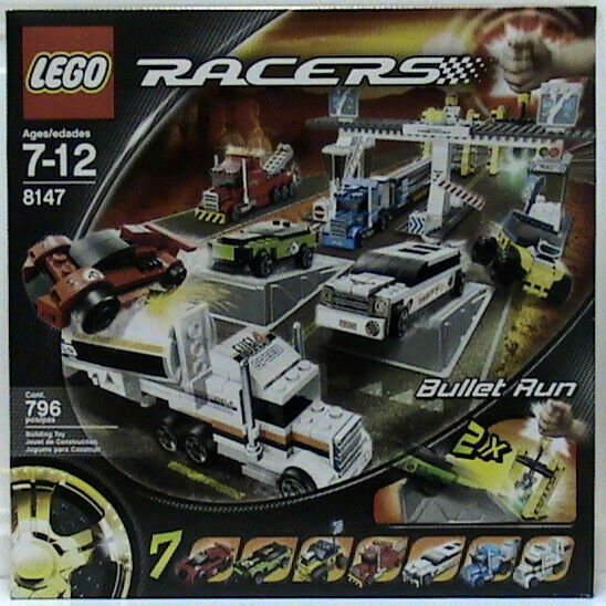 Lego Racer 8147 Bullet Run Nuovo Sealed