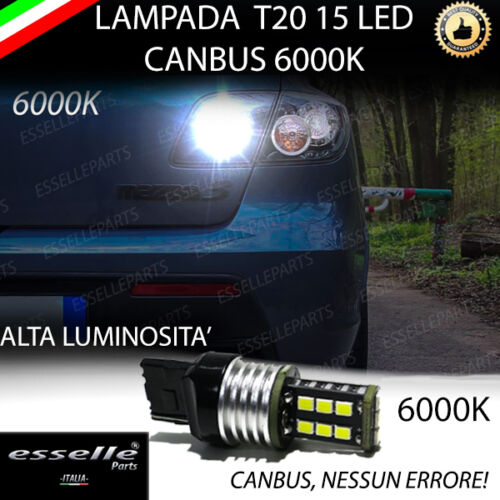 LAMPADA RETROMARCIA 15 LED T20 W21W CANBUS MAZDA 3 BK 6000K NO ERROR