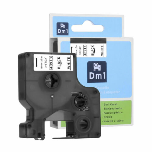 DYMO D1 A45013 S0720530 Label Tape Compatible with DYMO LabelManager 12mm  9mm