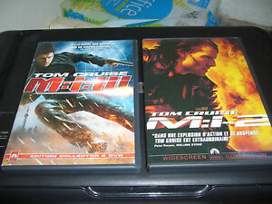 LOT-DE-2-DVD-MISSION-IMPOSSIBLE-TOM-CRUISE