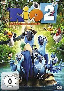 Rio-2-Dschungelfieber-von-Saldanha-Carlos-DVD-Zustand-gut