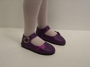 "RED Sidebow Doll Shoes For 14/"" Kish Chrysalis Lark Wren Piper Song Raven Debs"