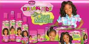 African-Pride-Reve-Enfants-Olive-Miracle-amp-Demelant-Miracle-Produits-Capillaires
