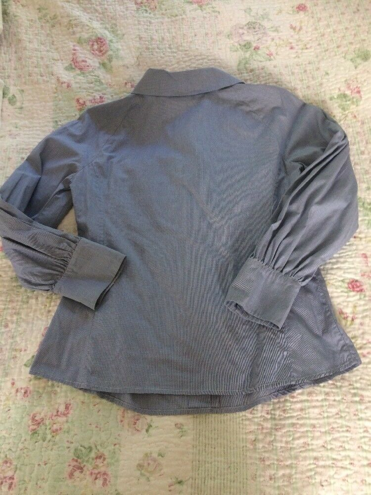 BELLISSIMO SPORTMAX CODE BLU BLU BLU BIANCO fine Check Camicia-Taglia 8. in buonissima condizione 22fff3