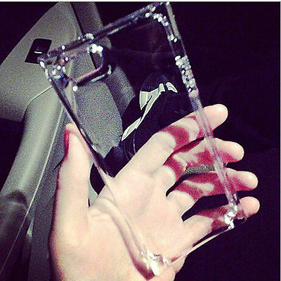 GRAU Clear Soft Silicone Gel Ice Cube Shockproof TPU Case Cover For iPhone 4S 5S