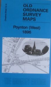 Old-Ordnance-Survey-Maps-Poynton-West-Cheshire-1896-Sheet-19-16-New