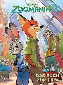 Zoomania-Das-Buch-zum-Film-von-Disney-Buch-Zustand-gut