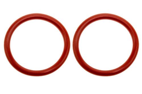 2x O-Ring 32x4mm rouge silicone joint intérieur 32 mm extérieur 40 mm d/'épaisseur 4 mm pour Saeco