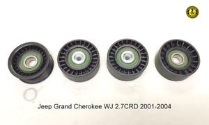 For-Jeep-Grand-Cherokee-WJ-2-7CRD-Serpentine-Belt-Pulley-Repair-KIT-2001-2004