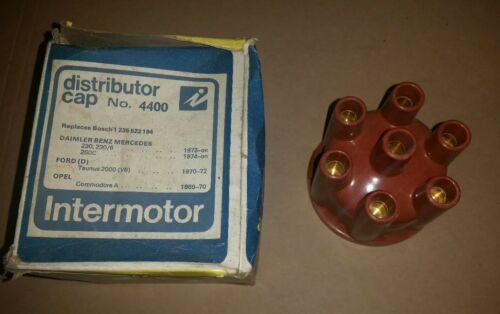 4400 INTERMOTOR DISTRIBUTOR CAP FOR FORD TAUNUS MERCEDES 230 250 OPEL COMMODORE