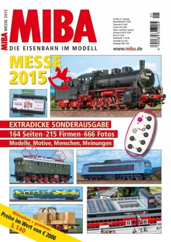 MIBA Messe 2015 Messeheft 2015 Spielwarenmesse Nürnberg