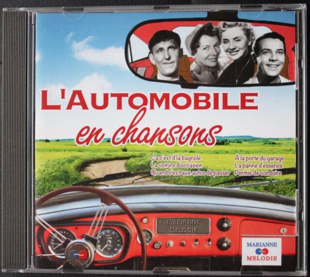 L'AUTOMOBILE EN CHANSONS   CD