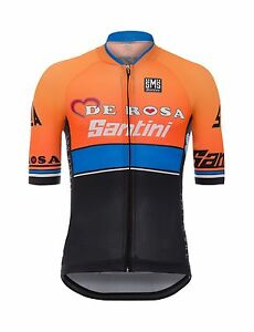 2017 Team De Rosa - Santini Sleek 99 Aero Cycling Jersey  by Santini ... a3abeab79