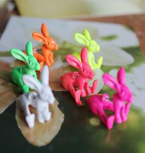 New-1pcs-Lovely-Cute-3D-Rabbit-Animal-Earrings-Ear-Stud-Alice-in-Wonderland-Hot