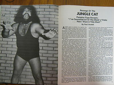 1977 Wrestling(PAMPIRO  FIRPO/JOHNNY  POWERS/LOU FERRIGNO/IVAN  PUTSKI/OX BAKER)