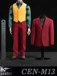 In-stock-1-6-Toy-center-CEN-M13-Joker-Red-Suit-Clothes