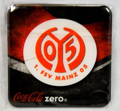 "Kühlschrank Magnet /""FSV Mainz 05/"" Fußball Bundesliga Coca Cola Zero"