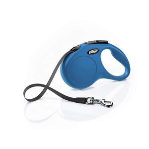 Retractable-New-Classic-Flexi-Tape-Leash-Size-Medium-16-FT-Color-Blue-Original