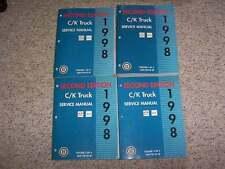 1998 Chevy Suburban 1500 2500 LS LT Shop Service Repair Manual Gas & 6.5L Diesel