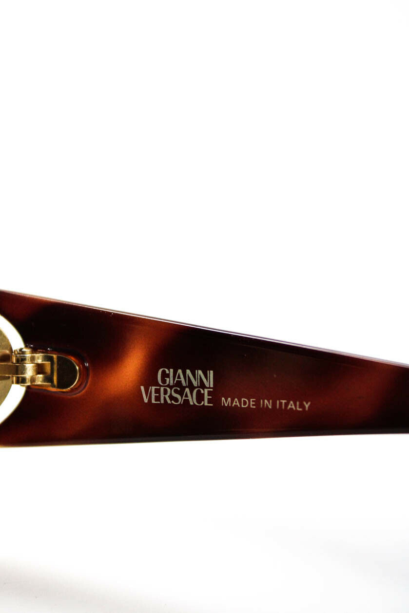 Gianni Versace Womens Vintage Tinted Round Lens S… - image 7