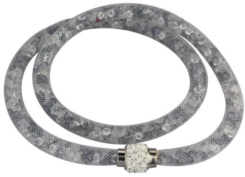 Stardust Halskette Armband Damen Sternenstaub Halskette Glitzer Strass Verschlus