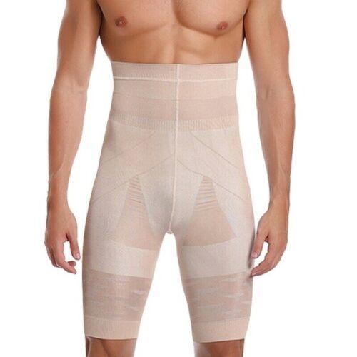 Details about  /Men Compression Faja High Waist Boxer Shorts Tummy Slim Body Shaper Girdle Pants