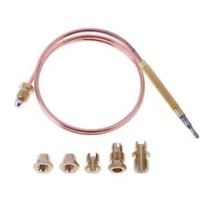 Thermoelement-Thermoelektrischer-Zuendsicherung-600mm-mit-Adaptern-Gasherd-Grill
