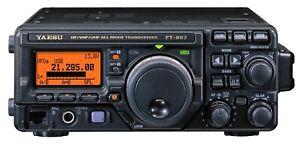 Yaesu FT 897 Transceiver / Kurzwellengerät Amateurfunk Service 1