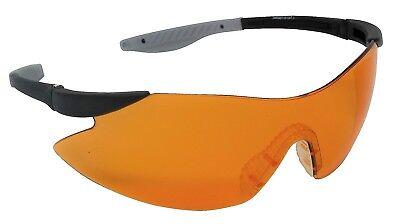 Adattabile Bersaglio Tiro Occhiali Di Sicurezza Arancione Infrangibili Lens Uv400-mostra Il Titolo Originale