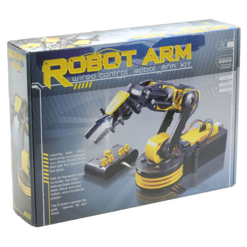 Wired Control OR Optional USB Interface available Rapid Robotic Robot Arm Kit