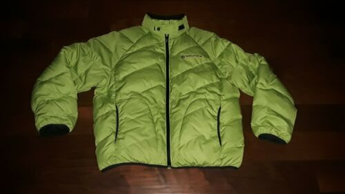 Nautica Competition Lime Green Down Jacket/Coat, … - image 1