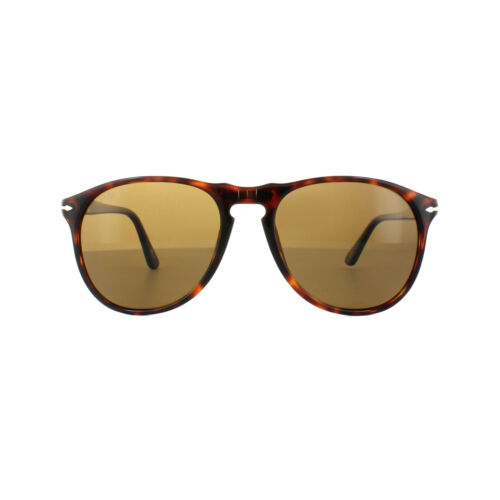 Persol Sunglasses 9649 24//57 Havana Crystal Brown Polarized