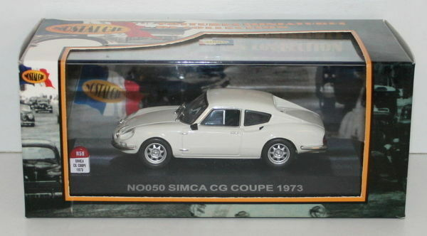 NOSTALGIE 1 43 SCALE - NO050 - SIMCA CG COUPE COUPE COUPE 1973 - Weiß  | Louis, ausführlich  5dd113